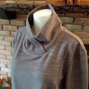 Jockey Casual Knit Sweater w/pockets - NWT - XXL